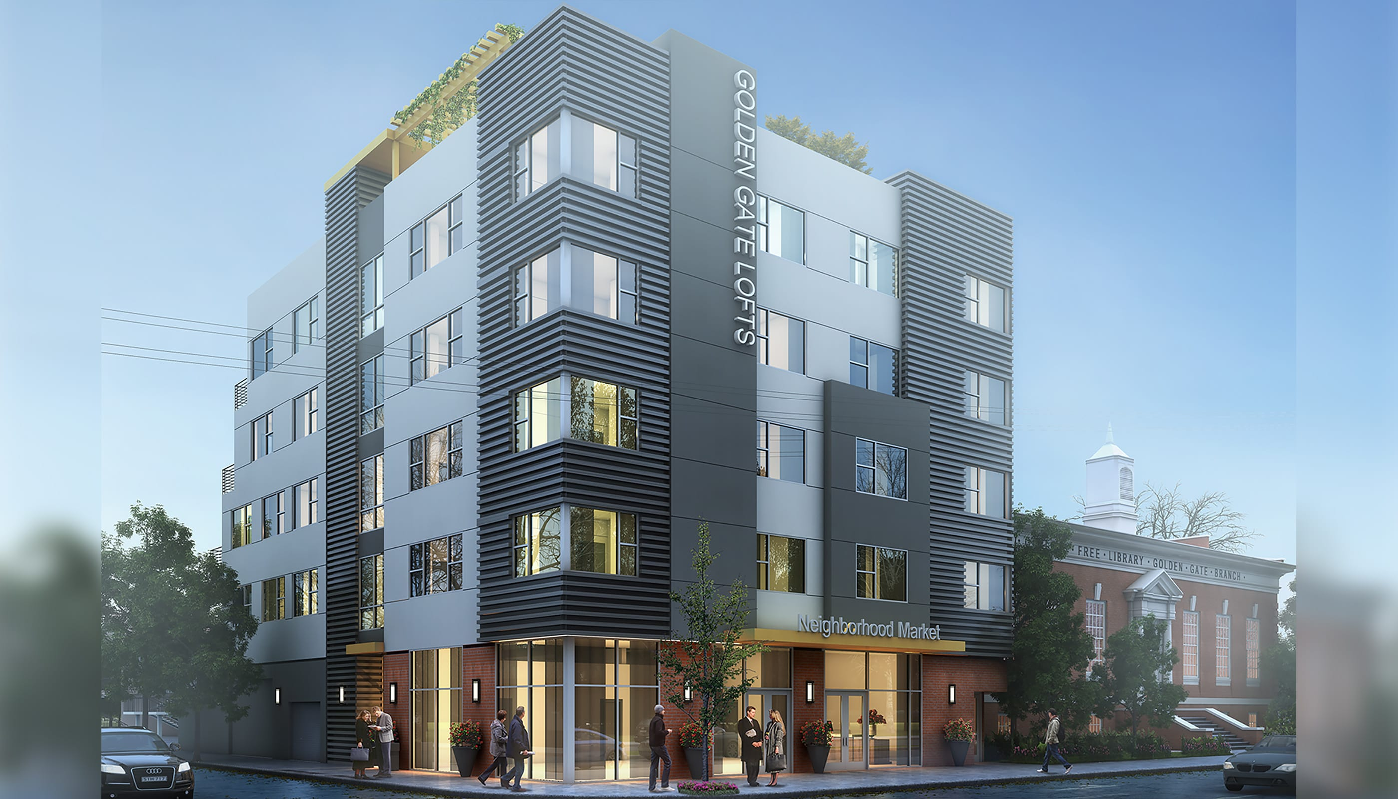 Golden Gate Lofts - Commercial Architecture