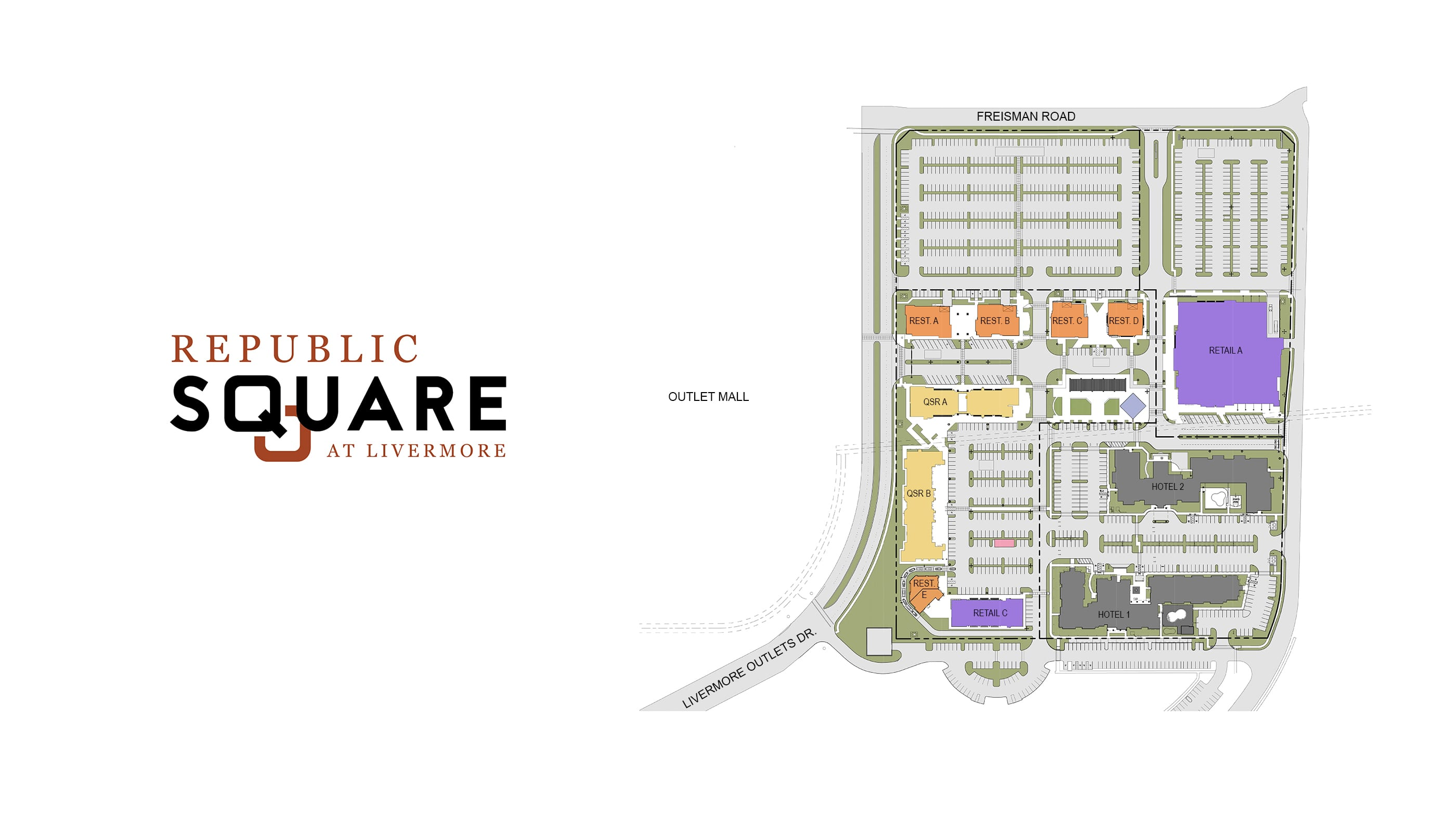 Republic Square - Commercial Architecture