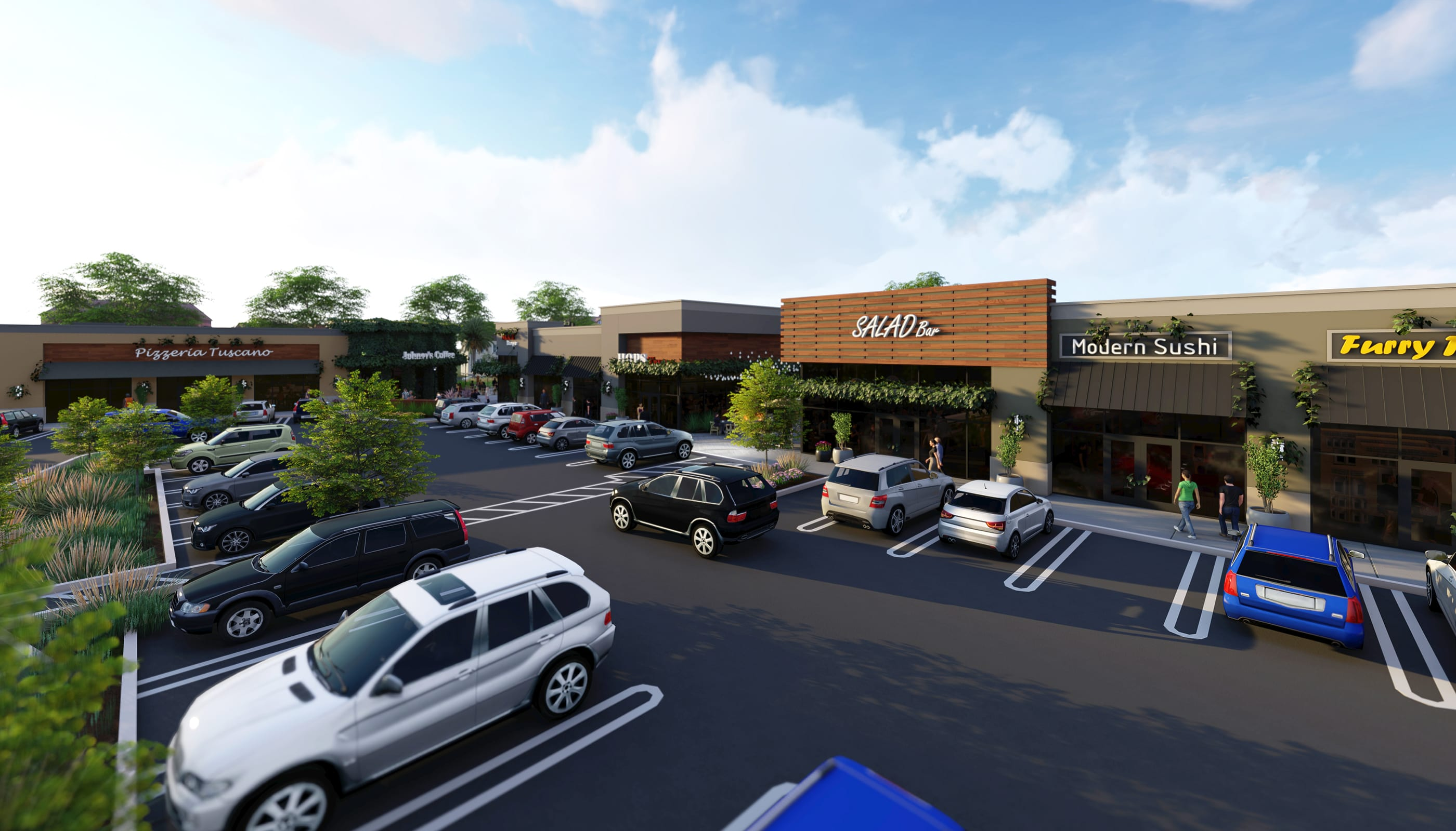 Amador Plaza - Commercial Architecture