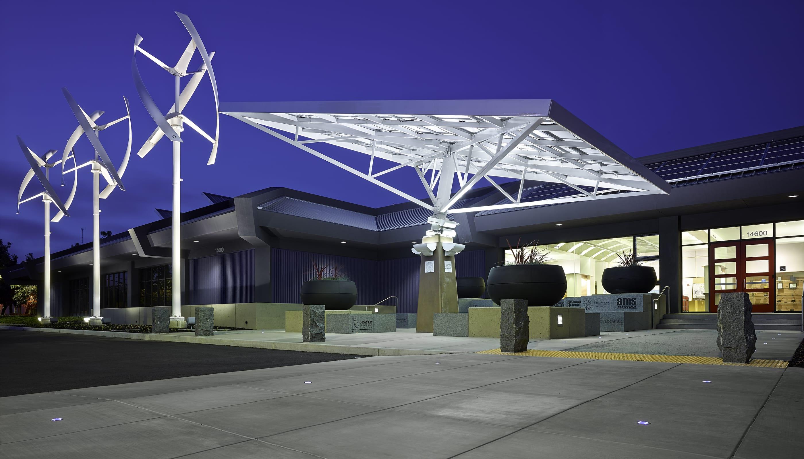 Zero Net Energy Center - Commercial Architecture