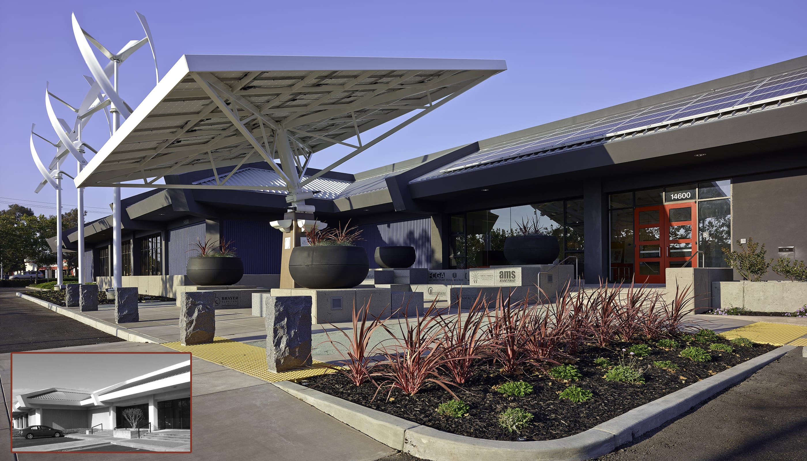 Zero Net Energy Center - commercial architecture