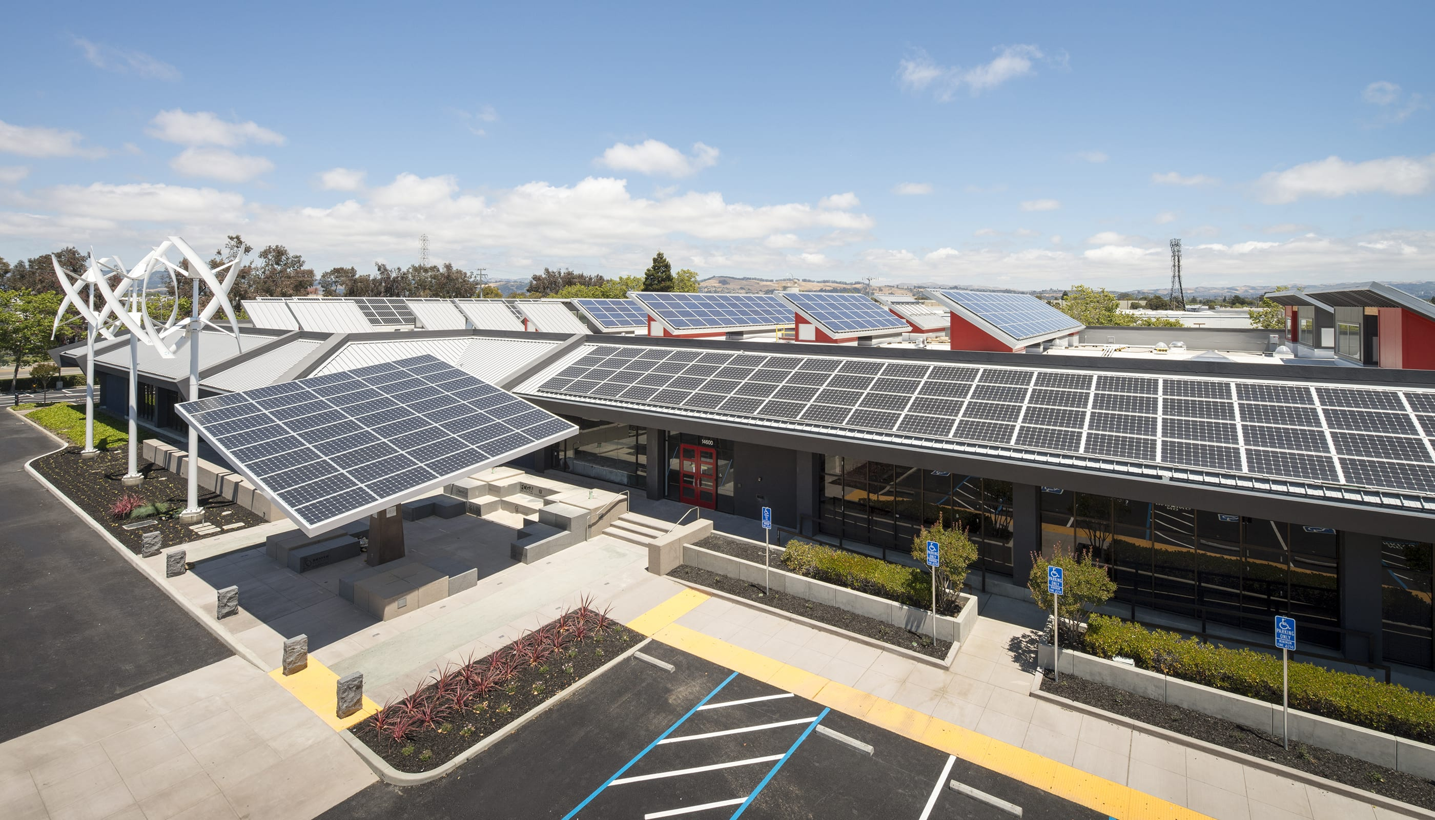 Zero Net Energy Center - Modern Architecture
