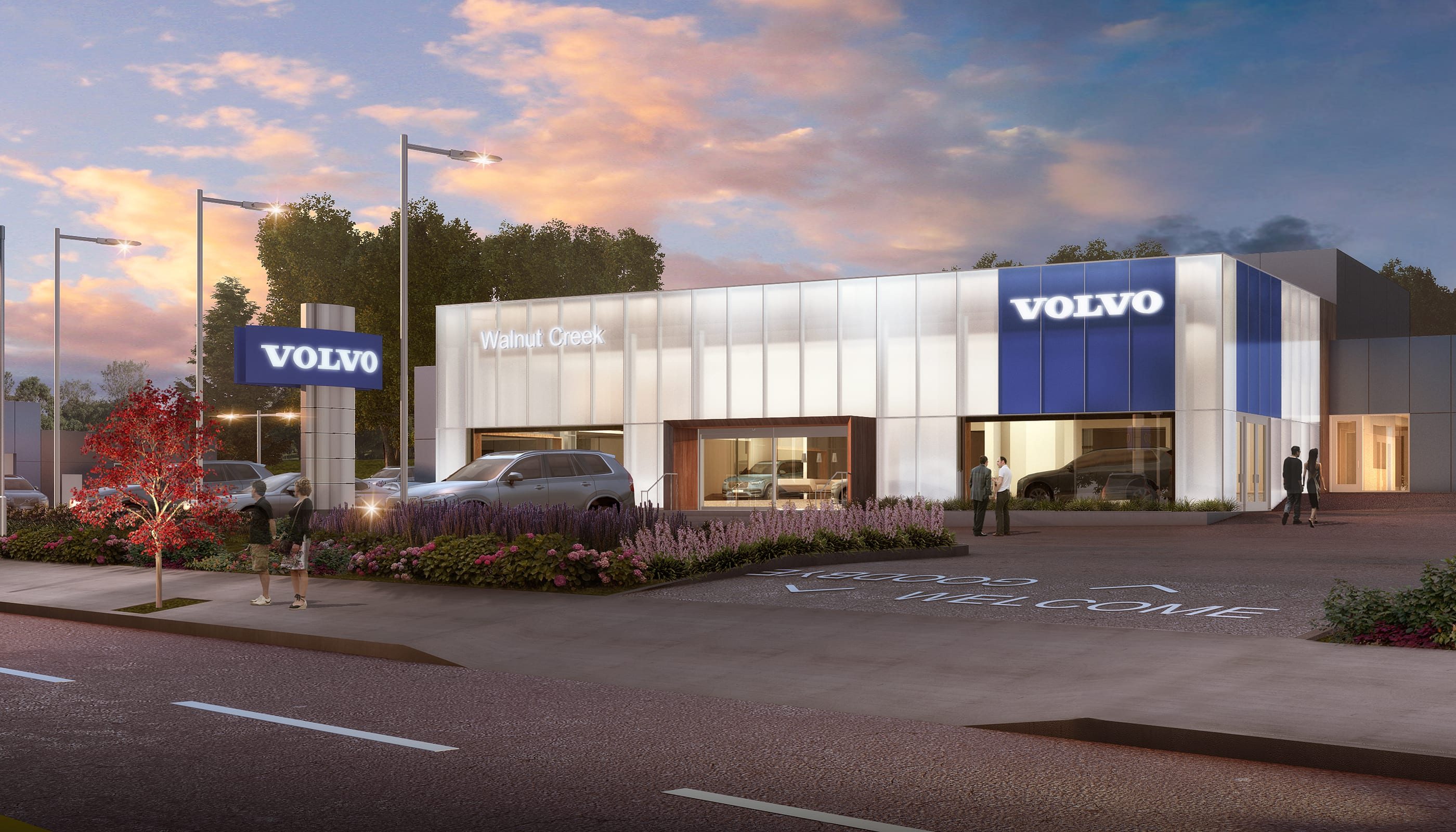 Volvo - Commercial Architecture