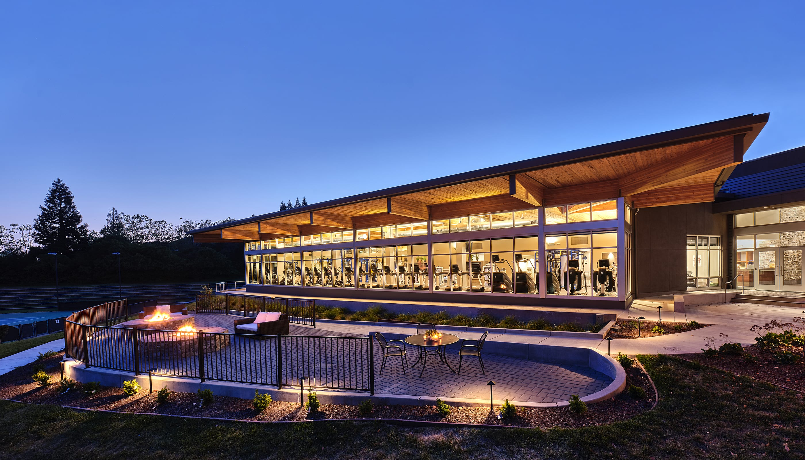 Blackhawk Fitness Wellness - Modern Architecture