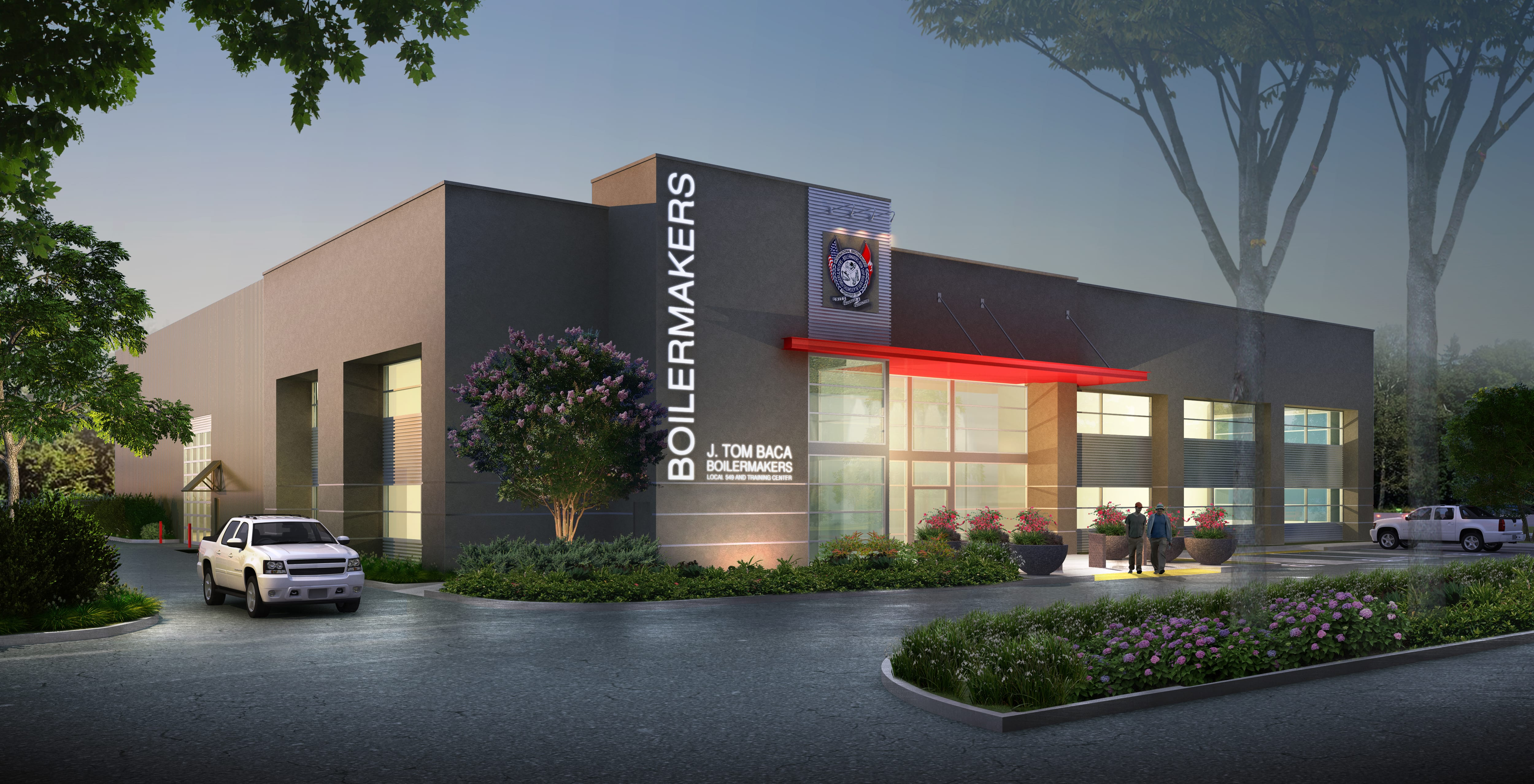 International Brotherhood of Boilermakers Local 549 Training Center - Commercial Architecture